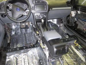 Шумоізоляція салону автомобіля