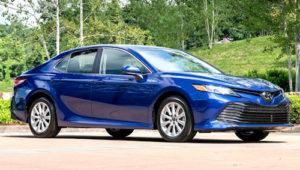 Нова Toyota Camry 2018 отримала максимальний бал за безпеку
