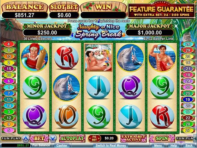 Играем онлайн Nice Spring Break в казино Вулкан