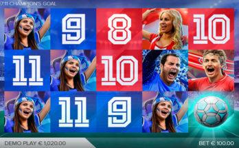 Champion's Goal в онлайн казино GGbet на сайте cyber-ggbet.com.ua